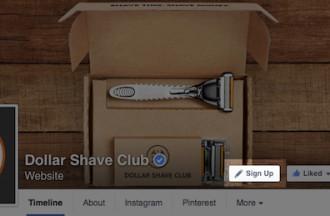 Οι Facebook σελίδες αποκτούν call-to-action επιλογές στο εξώφυλλο